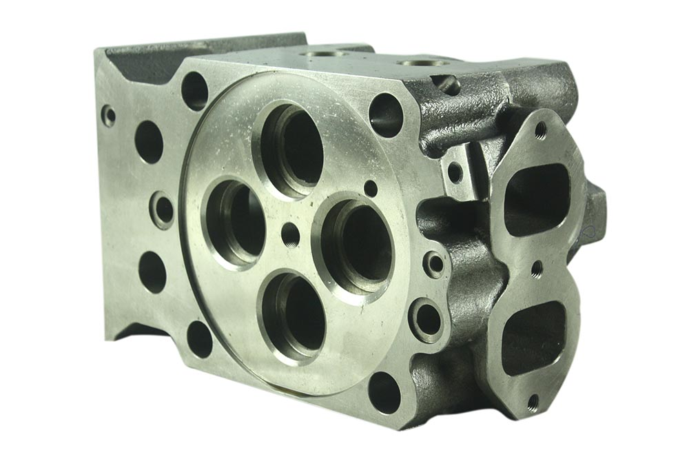 Success in Production Development of Dia.170 Cylinder head